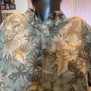 David Taylor Hawaiian Men's shirt size XL